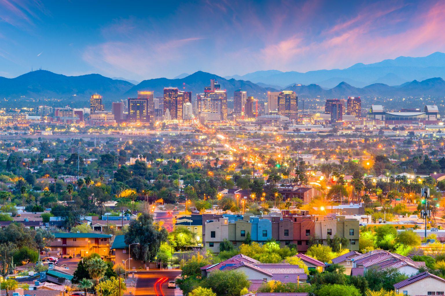 Phoenix, Arizona, USA Cityscap...